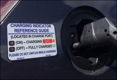 Magnet on Toyota Prius Plug-in